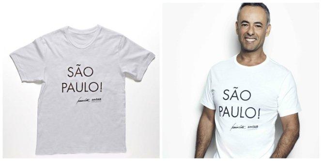Camiseta amFAR