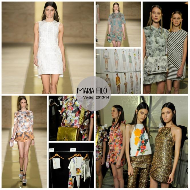 Maria Filo Fashion Rio Verão 2013 14