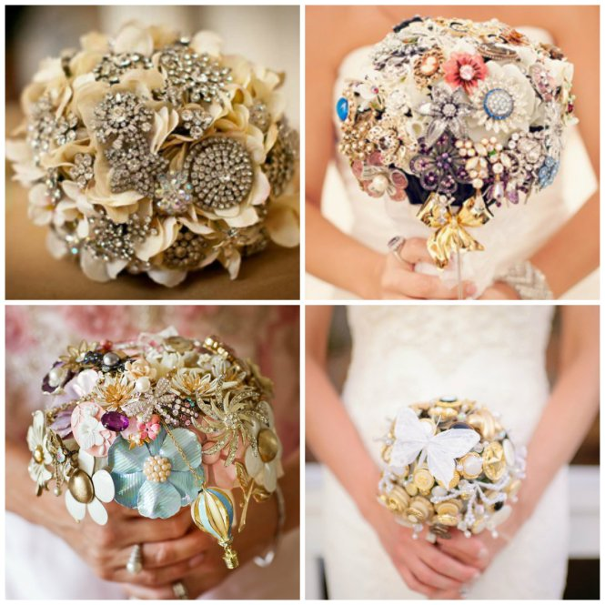 bouquet diamantes