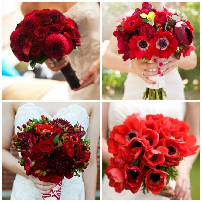 bouquet vermelho