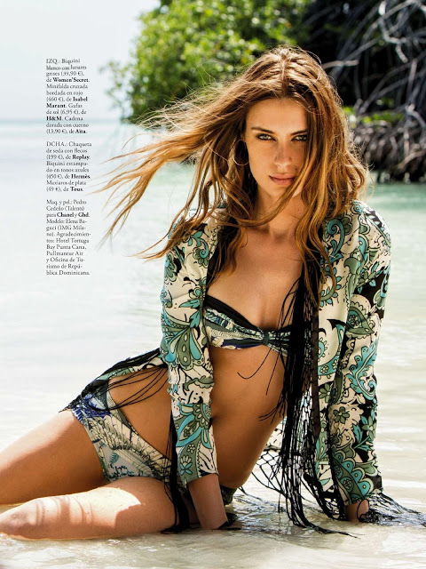 Elle Spain June 2013 Elena Baguci (7)