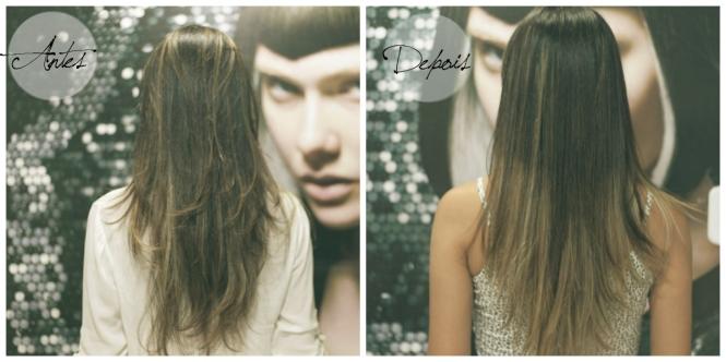 Ombré Hair Antes e Depois Ana Pimenta