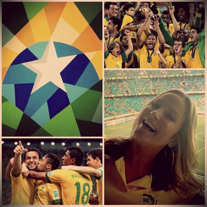 Brasil Copa das Confederações Claudia Leitte Faz Um