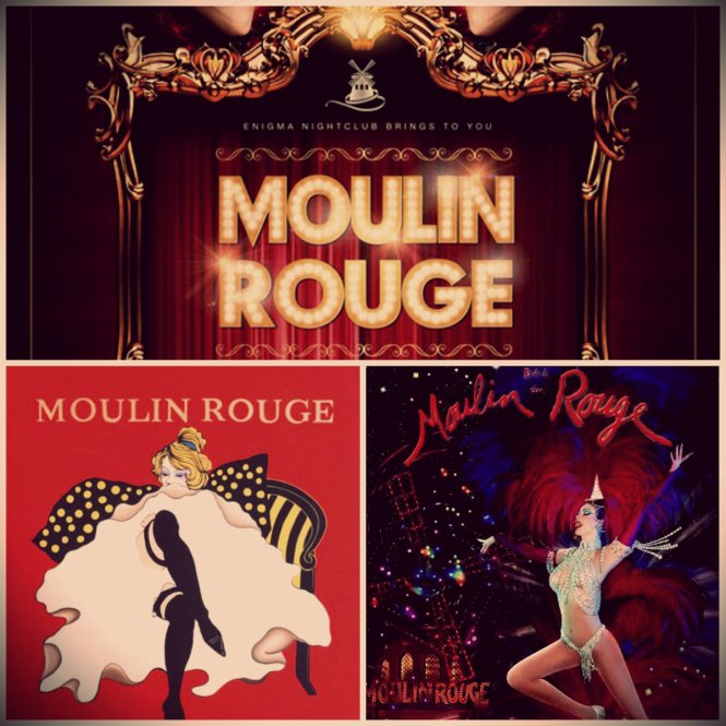 Tema Festa Moulin Rouge