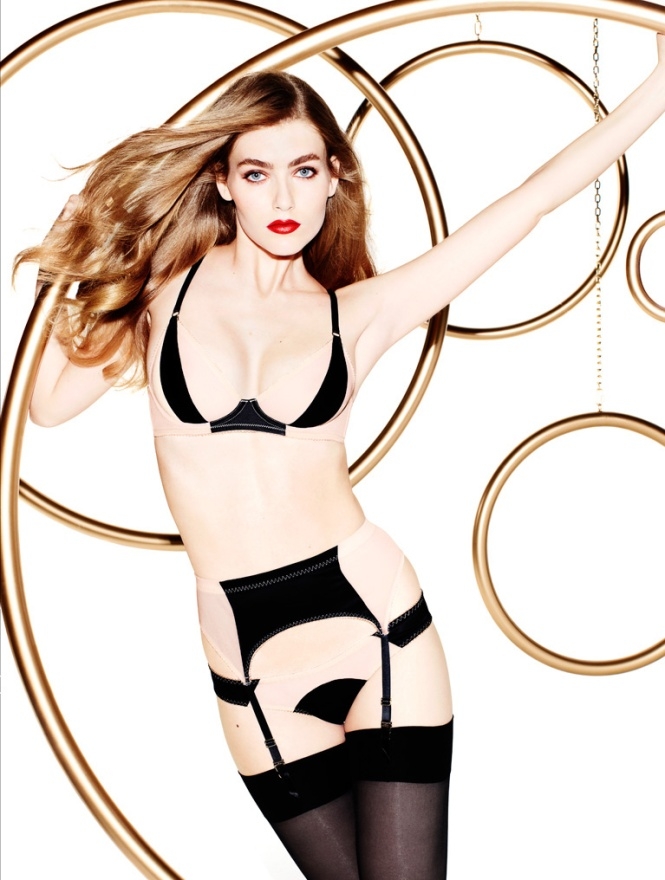 L'agent Penélope e Mónica Cruz Collection By Agent Provocateur (5)