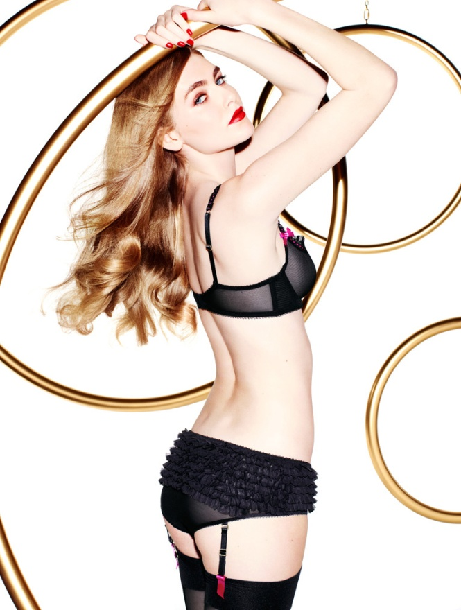 L'agent Penélope e Mónica Cruz Collection By Agent Provocateur (6)