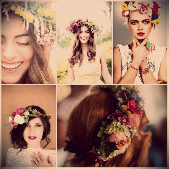 Flower Headband tiara coroa flores