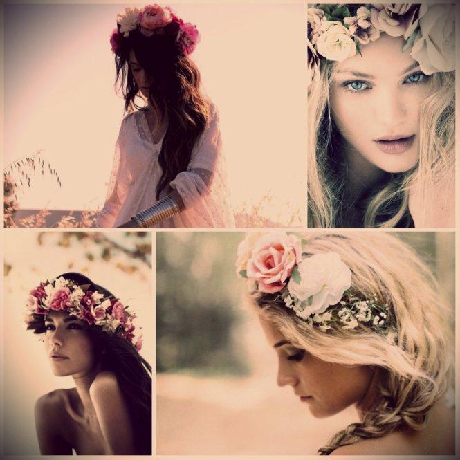 flowers headband  tiara coroa flores 1