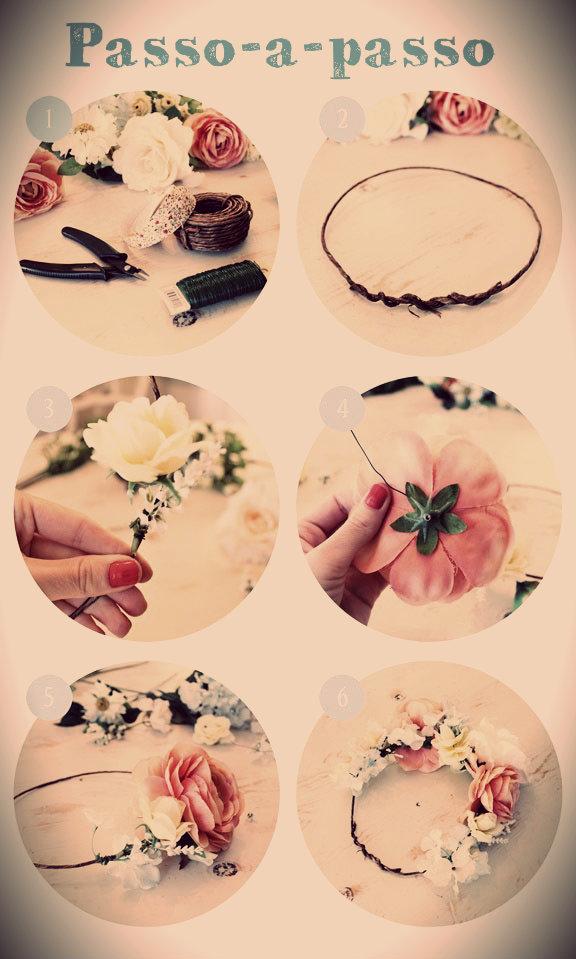 flowers headband  tiara coroa flores 4