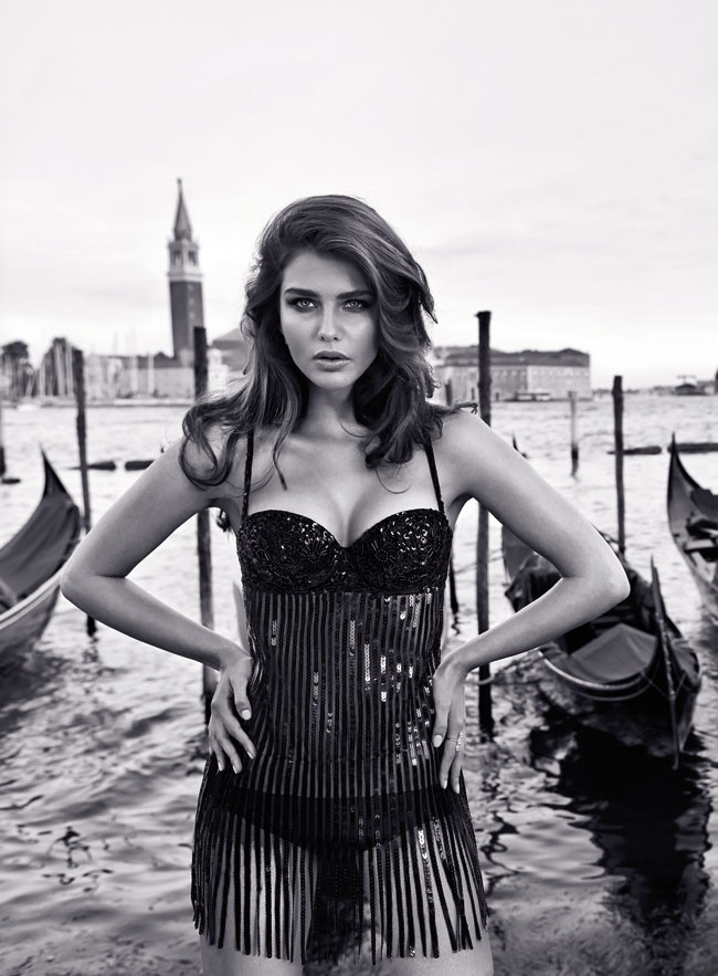 Intimissimi Inverno 2013 14 Tamara Lazic Lingerie Collection (18)