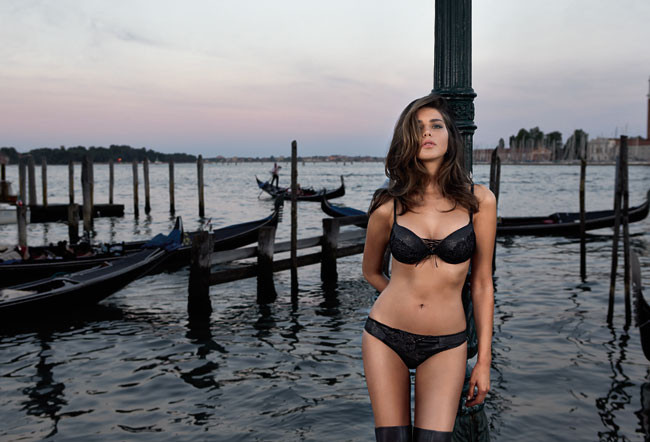 Intimissimi Inverno 2013 14 Tamara Lazic Lingerie Collection (19)