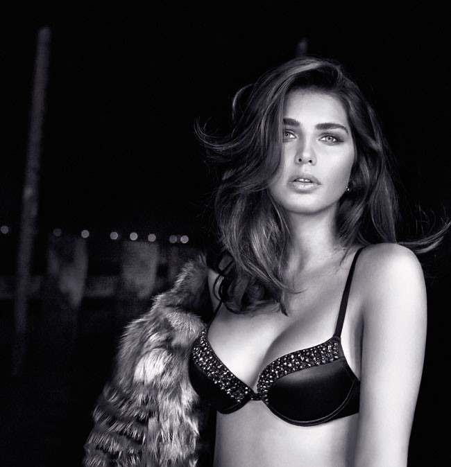 Intimissimi Inverno 2013 14 Tamara Lazic Lingerie Collection (21)