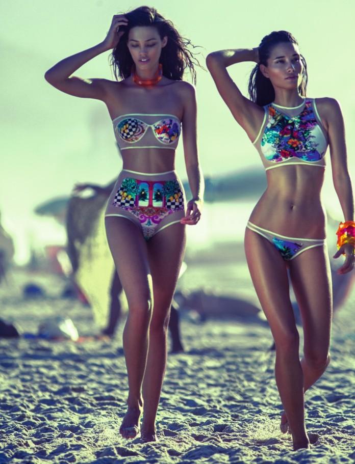 Rio LifeStyle Blue Man Verão 2014 Vida de Pimenta Beachwear Brazil (1)