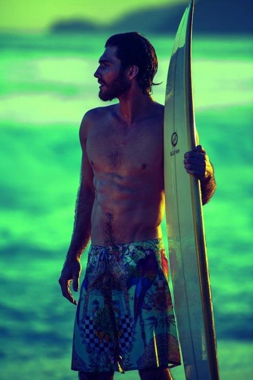 Rio LifeStyle Blue Man Verão 2014 Vida de Pimenta Beachwear Brazil (5)