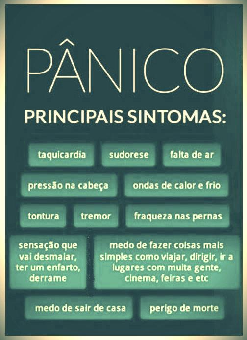 Sintomas Pânico